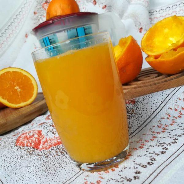 wieo wyciskany sok z pomaraczy Ale pychotka Wystarczy kilo pomaraczyhellip