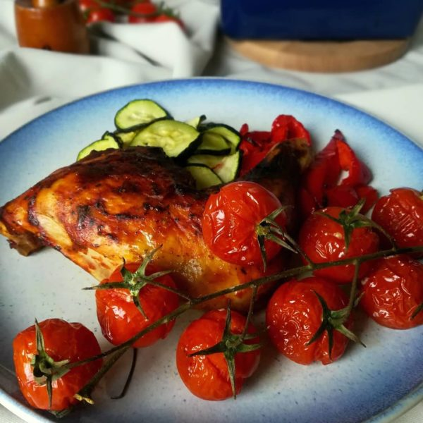 Chicken Time Pyszne kurcze pieczone z grillowanymi warzywami zdrowo hellip